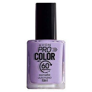 Esmalte Avon Pro Color Lilás Pleno