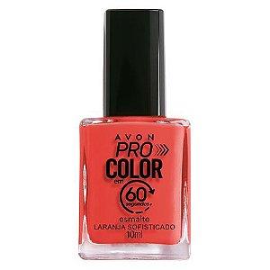 Esmalte Avon Pro Color Laranja Sofisticado