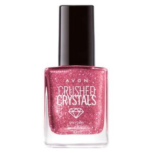 Esmalte Avon Crushed Crystals 10ml Pink