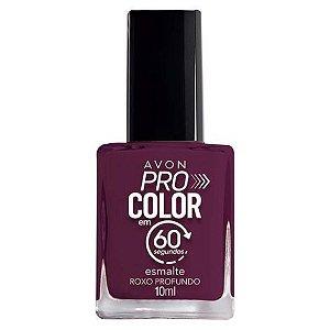 Esmalte Avon Pro Color Roxo Profundo