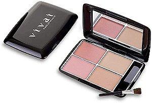 Kit Blush Vivai com 4 cores