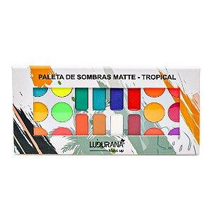 Paleta de Sombras Matte Tropical Ludurana