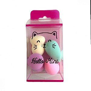 Hello Mini Kit Com 4 Mini Esponjas