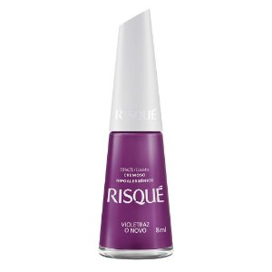 Esmalte Risqué Coloridos Cremoso Violetraz o Novo 8ml