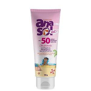 Anasol Protetor Solar Kids FPS 50. 100 g