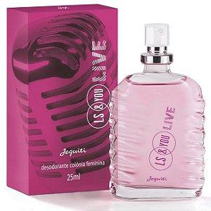 Desodorante Colônia Feminina Ls&You Live Jequiti