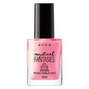 Esmalte Mystical Fantasies Avon 10ml Rosa Fabuloso