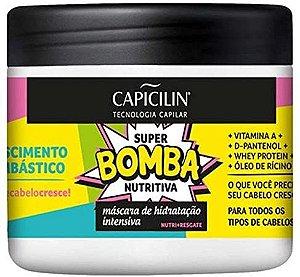 Máscara Hidratante Capicilin Super Bomba Nutritiva 350g