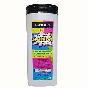 Super Bomba Nutritivo Shampoo 250Ml Capicilin