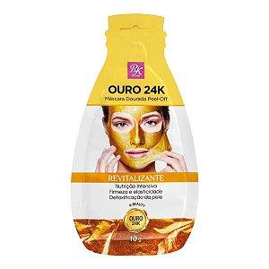 Máscara Dourada Facial RK by Kiss Ouro 24k -10 gr.