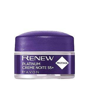 Creme Renew Platinum Noite + 55 - 15g