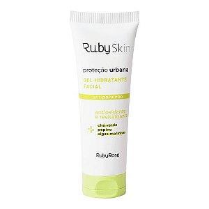 Gel Hidratante Facial Proteção Urbana Ruby Skin 50g