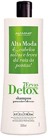 Shampoo Alta Moda Detox 7 Ervas 300ml