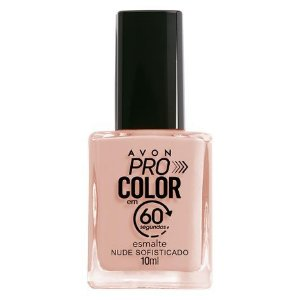Esmalte Avon Pro Color 10ml Nude Sofisticado