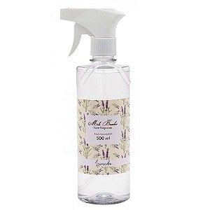 Água Perfumada para Tecidos -  Lavanda 500ml - Mel Brushes
