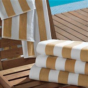 Toalha de Piscina Profissional 86x160cm Bege - Ibiza - Teka Profiline
