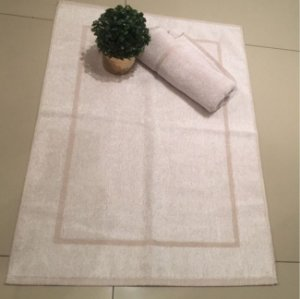 Toalha para Pés Profissional 48x70cm - Cor Bege - Roma 540g/m² - Teka Profiline