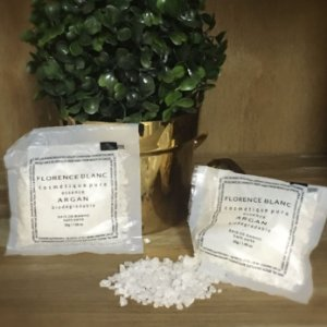 Kit 10 Sachet de Sais de Banho 30 g Florence Blanc - Realgems
