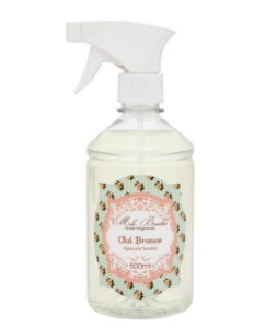 Água Perfumada para Tecidos - Chá Branco 500ml - Mel Brushes