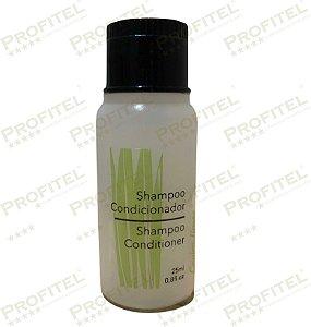 Caixa 100 Shampoo-Condicionador 2x1 - 25ml - Capim Limão - Realgem's