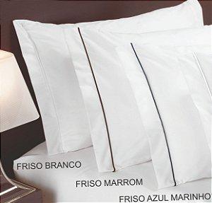 Fronha Com 2 Abas (Laterais) + Friso - Madri 180 fios - TEKA Profiline