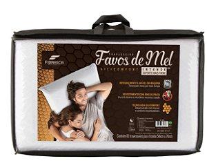 Travesseiro 50x70 - Premium Favos de Mel Silicomfort Intense - Fibrasca