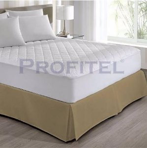 Saia para Box Queen Hotel Design - 160x203+32cm - Cor Bege -  Profitel