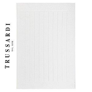 Toalha para Pés Branco 86x60cm Scala 920 G/m² Antiderrapante  Trussardi