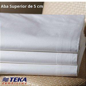 Lençol Avulso Casal 220x243cm Com aba de 5cm - Imperial Plus 200 fios - TEKA Profiline