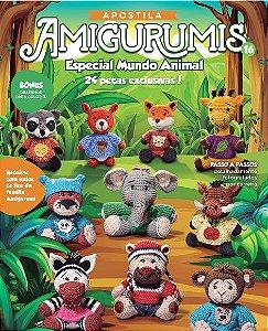 APOSTILA AMIGURUMIS ESPECIAL MUNDO ANIMAL - Nº 16