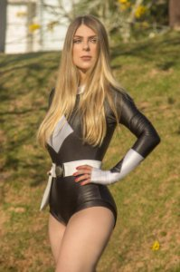 Power Ranger Feminina Fantasia Carnaval