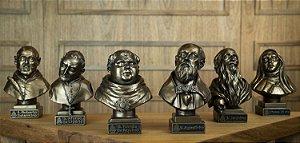Coleção de Bustos Doutores da Igreja (6 un)