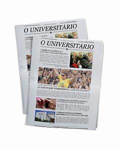 Jornal O Universitário - 30 unidades