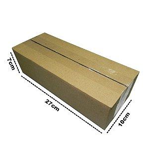 50 Caixas de Papelão P2- 27x10x7 cm