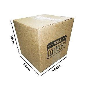 50 Caixas de Papelão B4 15x15x15 cm