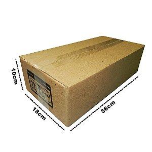 25 Caixas de Papelão D9 - 36x18x10 CM