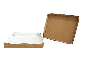 25 Caixas de Papelão Para Doces Salgado M - 32x25x5 cm