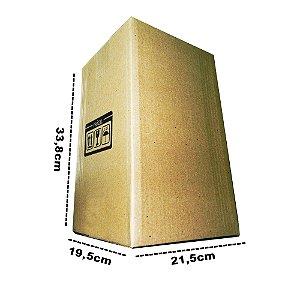 Caixa de Papelão E10 21,5x19,5x33,8 cm - 10 unidades