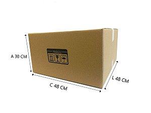 5 Caixas de Papelão para mudança E1 48x48x30 cm