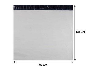 Envelope Plástico de Segurança LISO - 70x50 cm - 50 unidades
