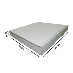 Caixa Para Esfiha Conjugada 40x40x5 cm - 20 unidades