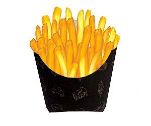 Caixa Para Batata Frita média - 100 unidades