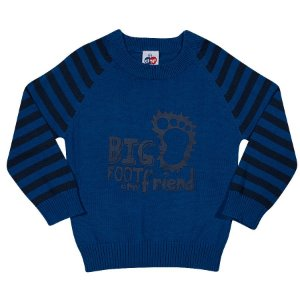 Blusão Tricot Kids Azul - Tip Top