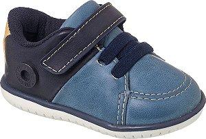 Sapato Cravinho Casual Denim / Marinho - Klin