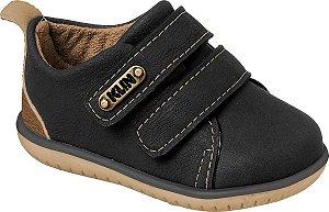 Sapato Cravinho Casual Preto/Caramelo - Klin