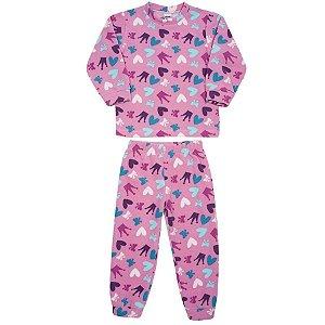 Conjunto Pijama Longo em Soft - Tip Top