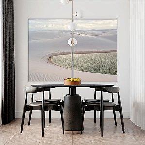 Conjunto com 02 quadros decorativos Lençóis Maranhenses