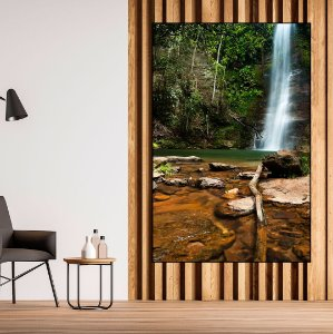 Quadro Decorativo Cachoeira - Artista Bruno Lacerda