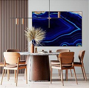 Quadro decorativo Ágata Azul