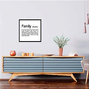 Quadro Decorativo Family